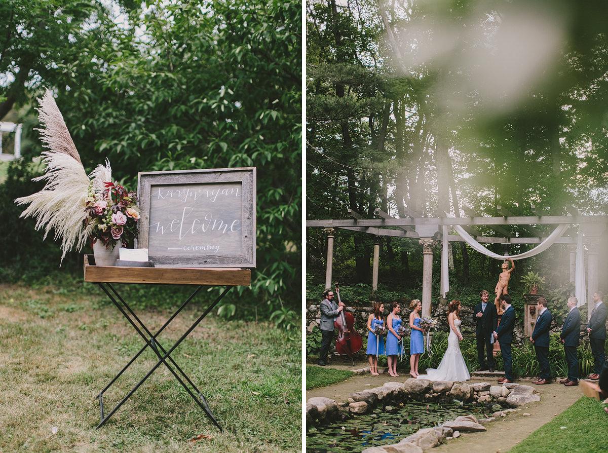 Codman Estate Wedding Foret Design Boston Photographer Bouquet New England Inspo