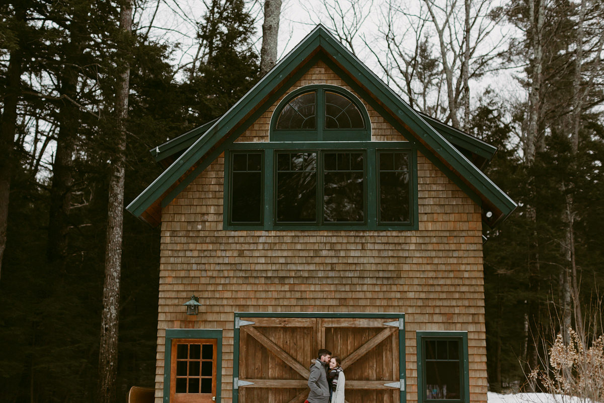 squam lake engagement
