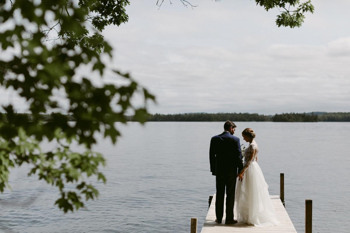 squam lake wedding
