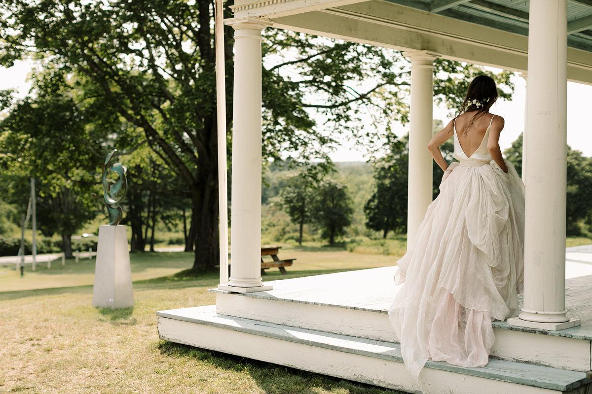 Laudholm Farm Wedding Wells Maine